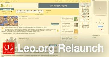 Leo.org Relaunch